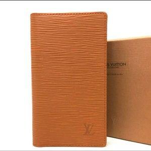 Louis Vuitton Epi Agenda Leather Cover